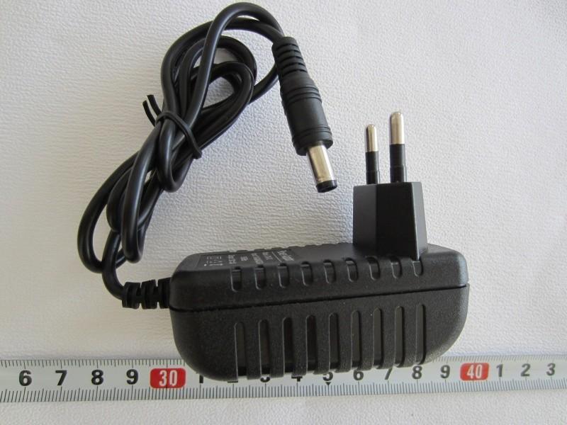Maitinimo šaltinis adapteris - transformatorius AC 100 – 240V 50/60Hz / DC 12V 2A 24W (kištukai)