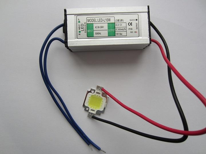 LED diodas 10W (Led cihp) a