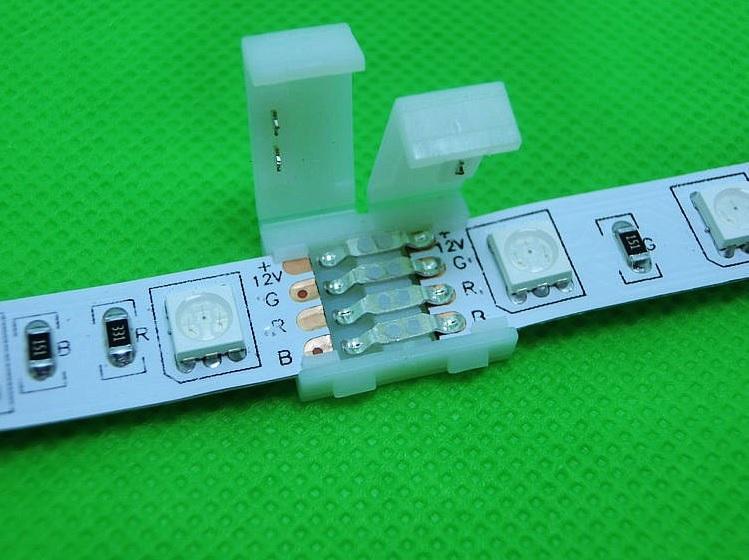 RGB juostos jungtis 8 kontaktai a