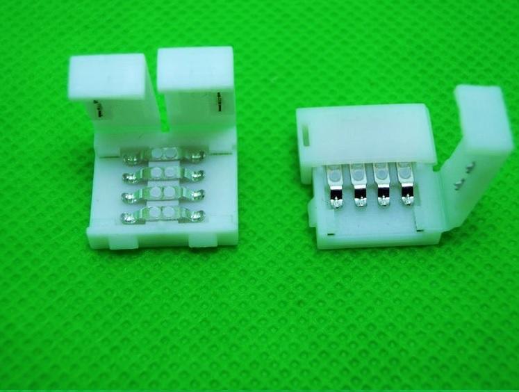 RGB juostos užspaudžiama jungtis 8 kontaktai
