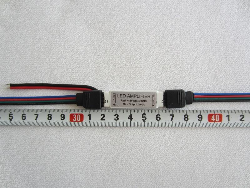 RGB stiprintuvas 12V 12A