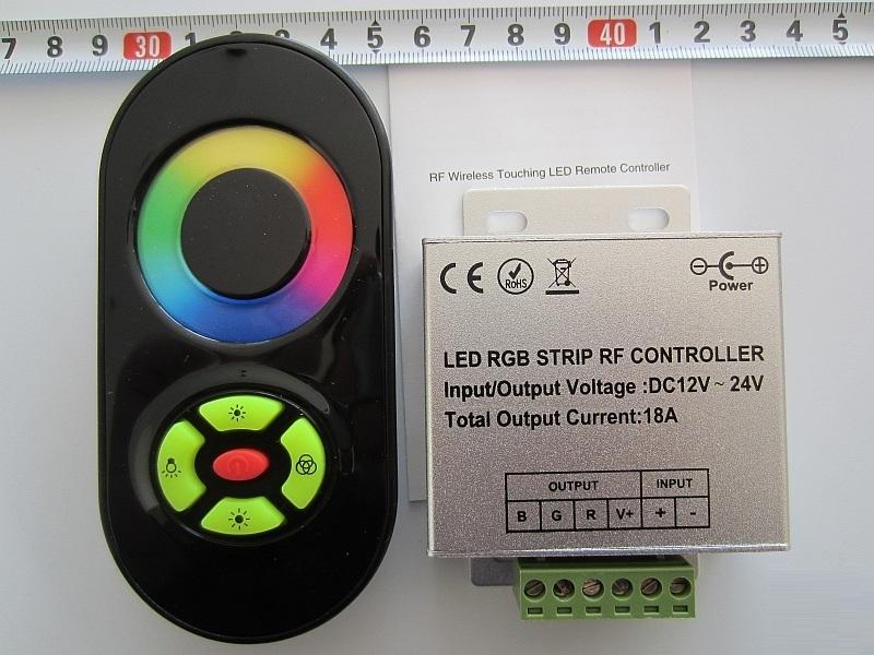 RGB tuoch penkiu mygtuku