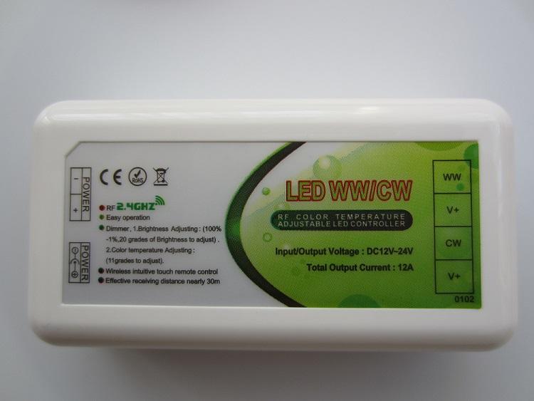 Temperaturos valdiklis LED juostai 12-24V 2x6A