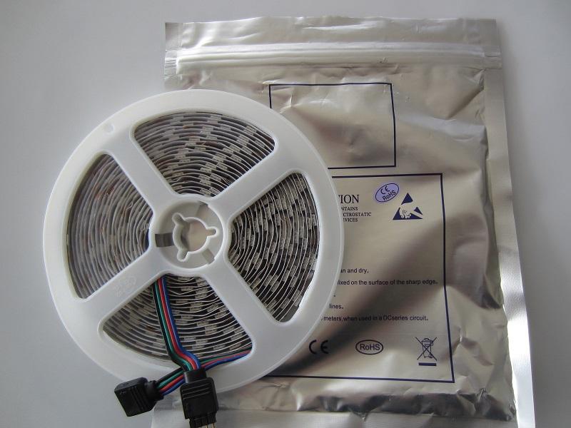 LED juosta 5050 SMD CW+WW trys atspalviai