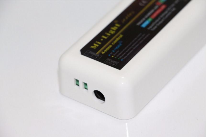 2,4G RF RGB LED juostų valdiklis