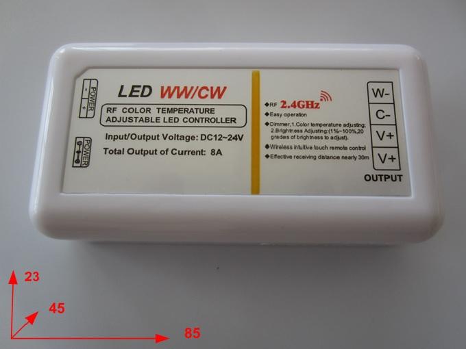 2,4 GRF valdiklis 4 zonos WW/CW LED Juostai