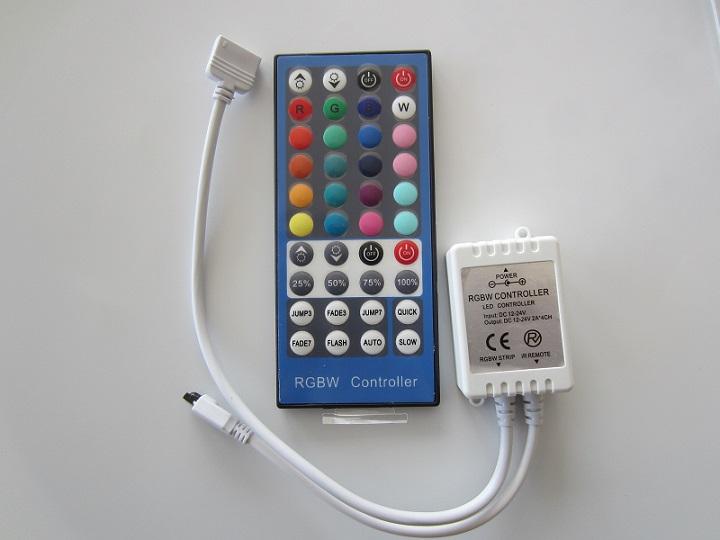 RGBW juostu valdiklis 4 x 2A