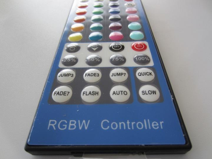 RGBW valdiklis 4 x 2A