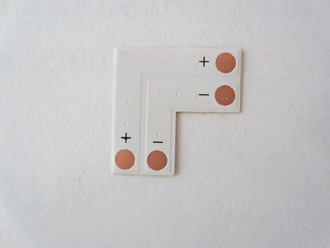 L tipo 2 kontaktai 10mm LED juostai