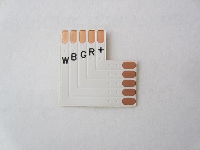 RGBW 5 kontaktu jungtis