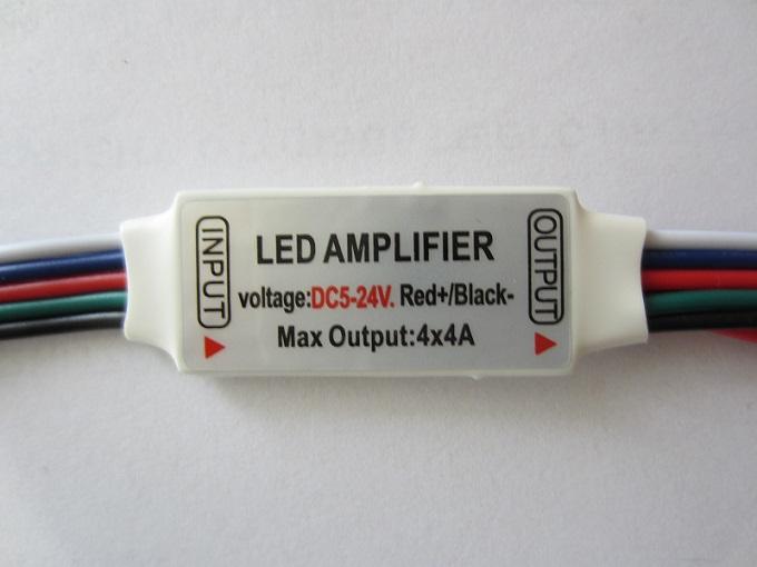 RGBW stiprintuvas - kartotuvas 4x4A LED juostai
