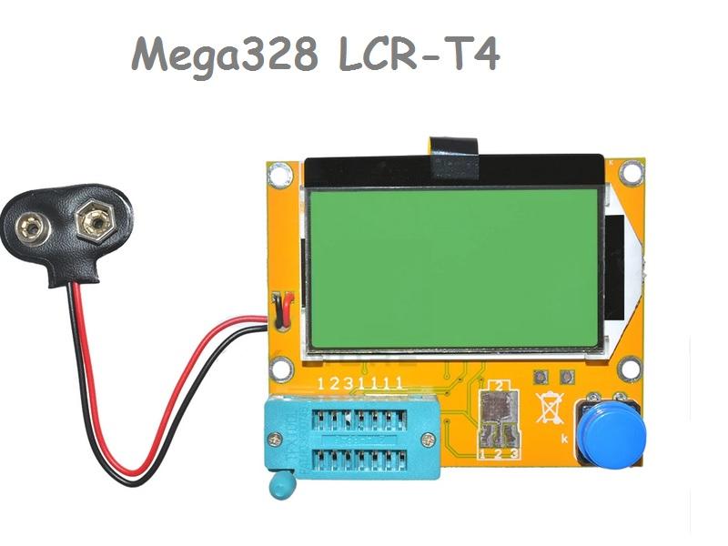 LCR-T4 Mega328 multi funkcinis grafinis testeris