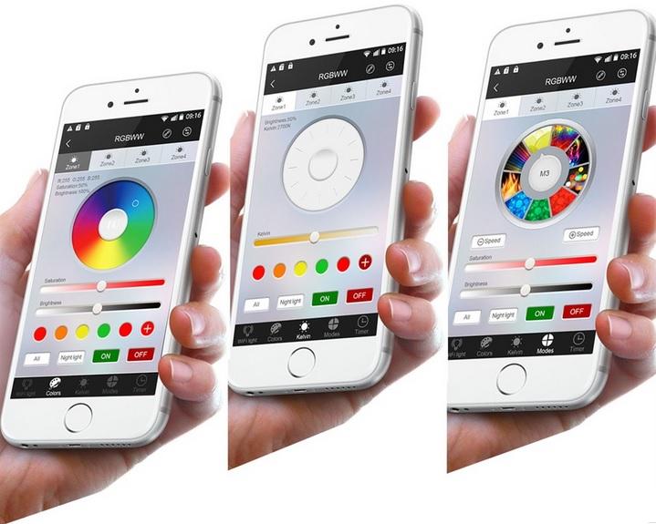 WiFi Mi Light iBox 2,2GHz siustuvas tiltas RGB, RGBW, CW, WW