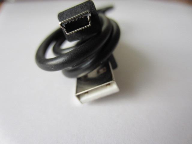 Mini USB laidas 80 cm 2A