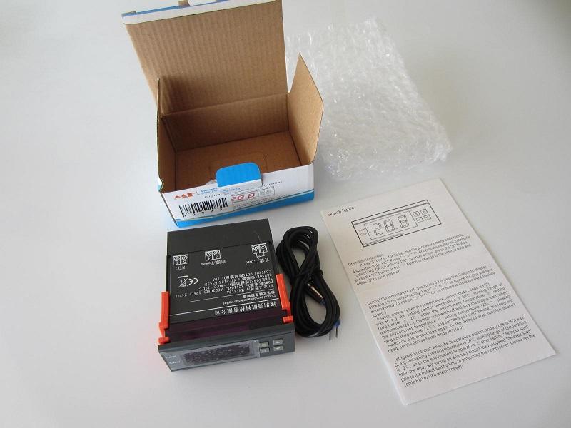 Termoreguliatorius termostatas 12V 10A