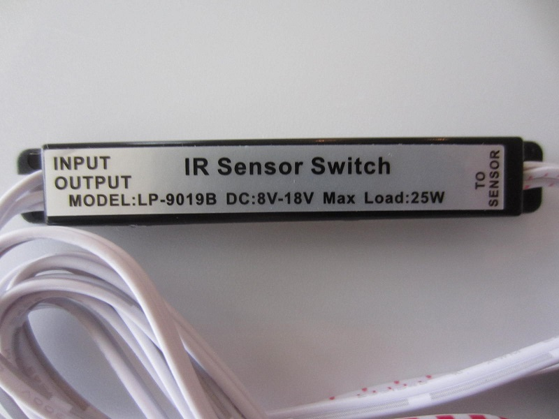 Indukcinis jutiklis jungiklis LED juostai 5-18v 25W