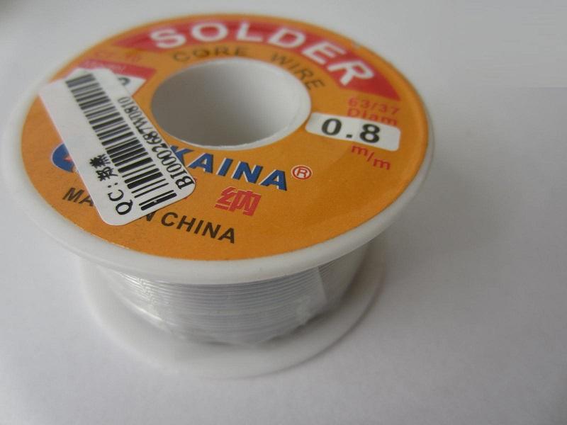 Lydmetalis 100g. 8mm su fliusu b