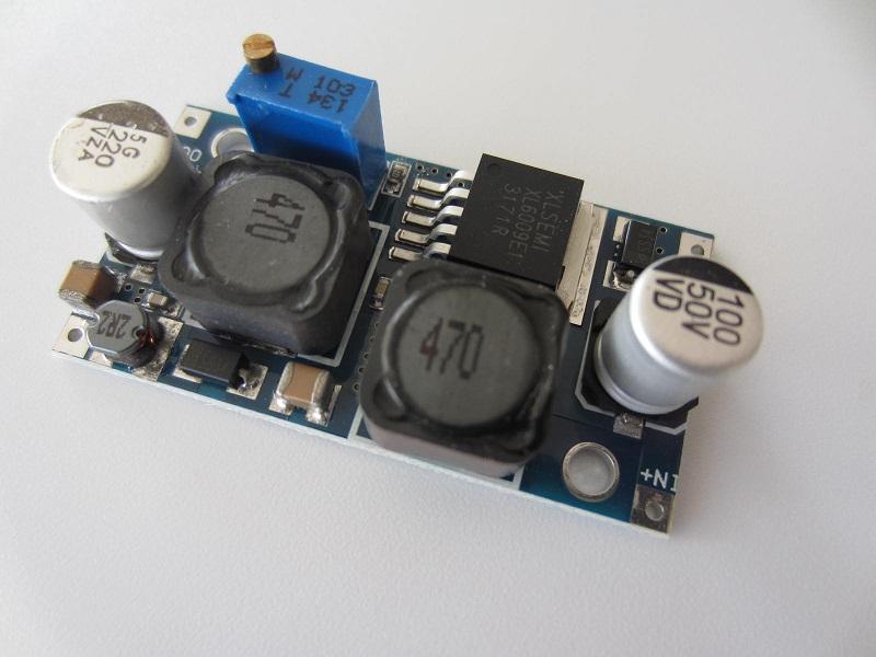 DC reguliuojamos itampos stabilizatorius 5-32V 3A