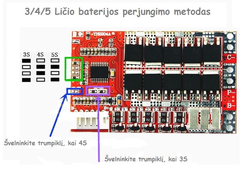 BMS 5S 50A g