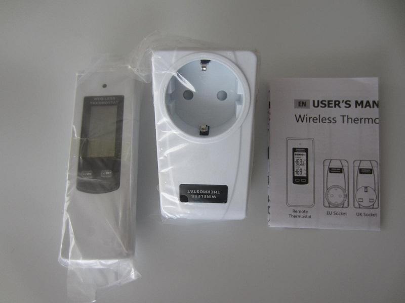 RF termoreguliatorius -termostatas 220v 3600W