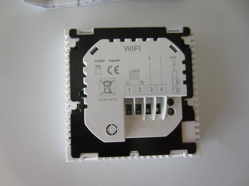 Wi-fi programuojamas termoreguliatorius - termostatas