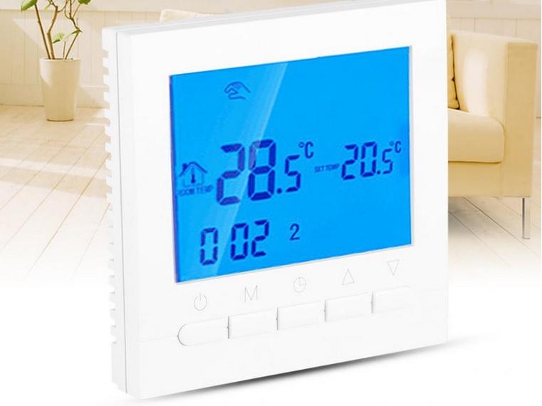 Wi-fi programuojamas termoreguliatorius h