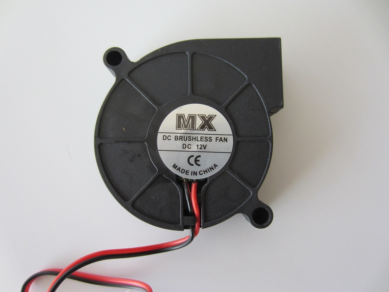 MX ventiliatorius 12V 0,3A