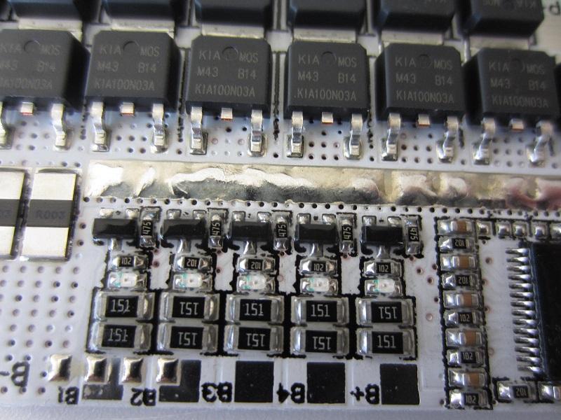 BMS 5S 60A -100A