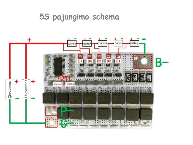 BMS 5S 60A