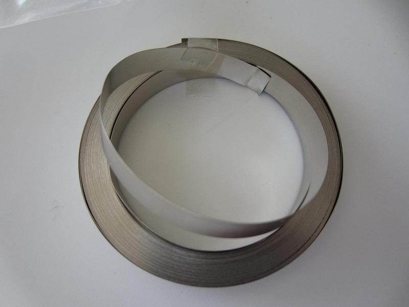 18650 Li-ion suvirinimo juosta 0,15mm x8mm x1metras