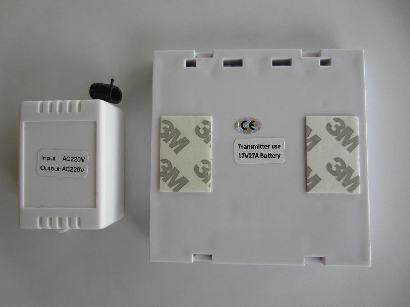 Belaidis 1 mygtukas 1 kanalai ON-OF 220V
