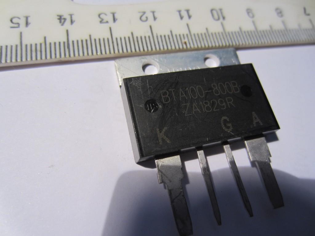 Simistorius BTA 100A 800V