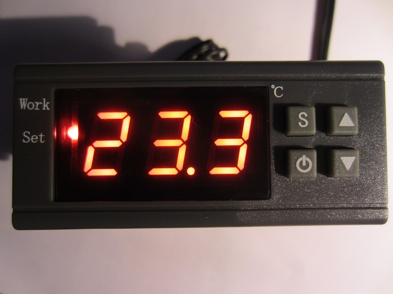 termoreguliatorius - termostatas MH1210W 220V